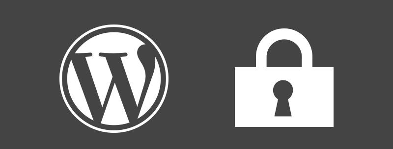 Security of WordPress website