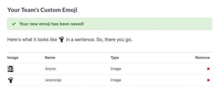 WooCommerce Slack Custom Emojis