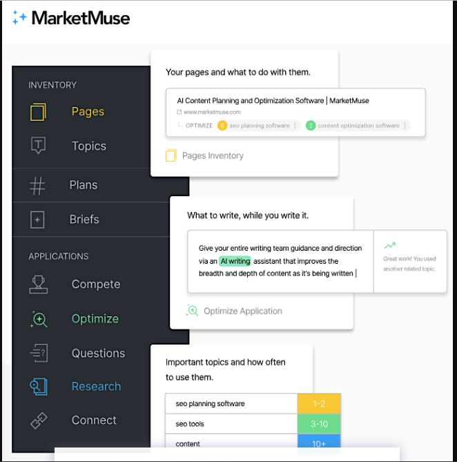 MarketMuse-AI Marketing tools