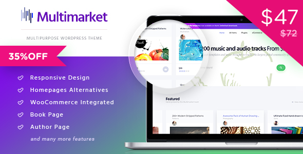 Multimarket theme to Create an Online Marketplace Like Etsy