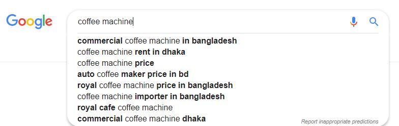 Google Auto Suggest LSI Keywords