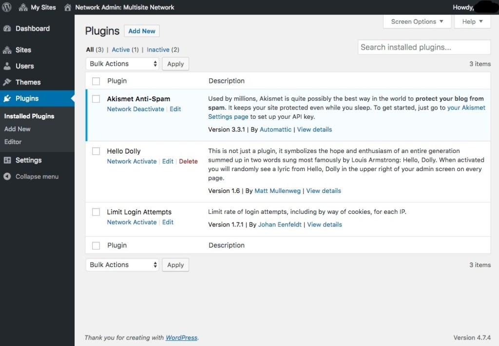 Enabling Site Plugins