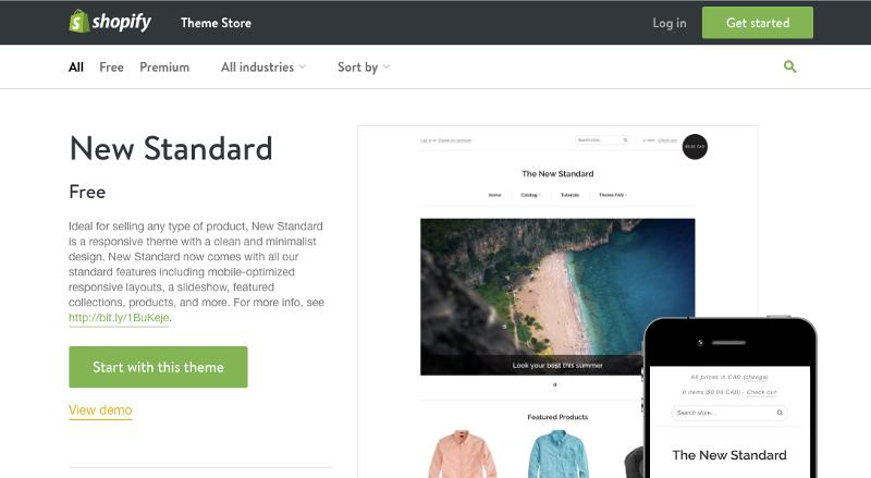 Shopify Theme Store-Launch eCommerce store