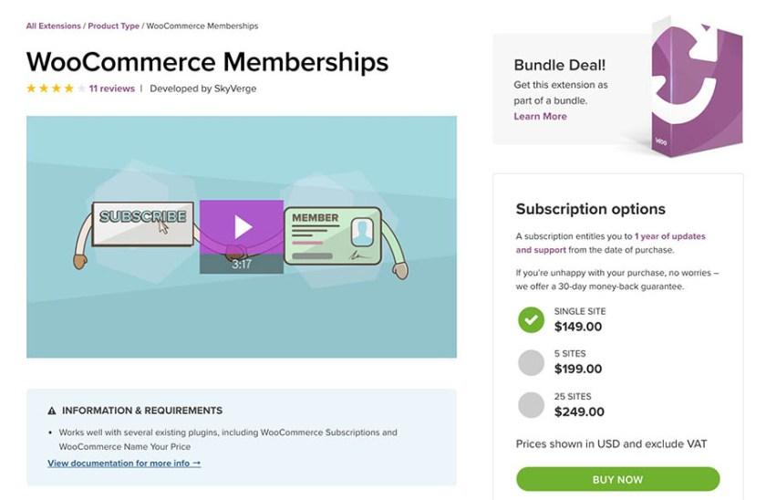 WooCommerce Membership Plugin to Improve WooCommerce Sales