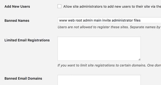 Register Options