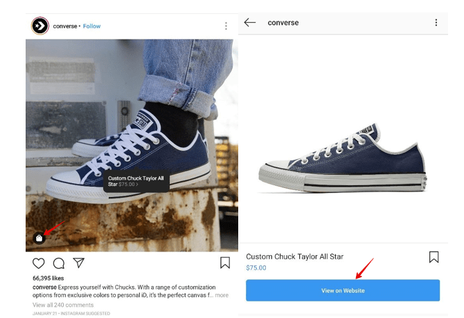 Using Instagram for Product Sells