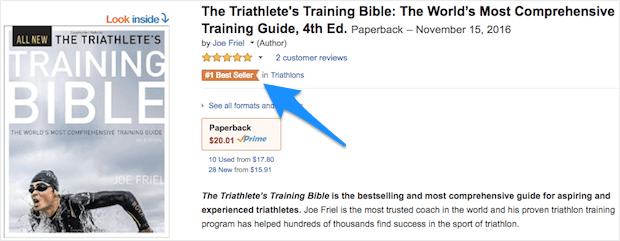 Best Seller as Social Proof