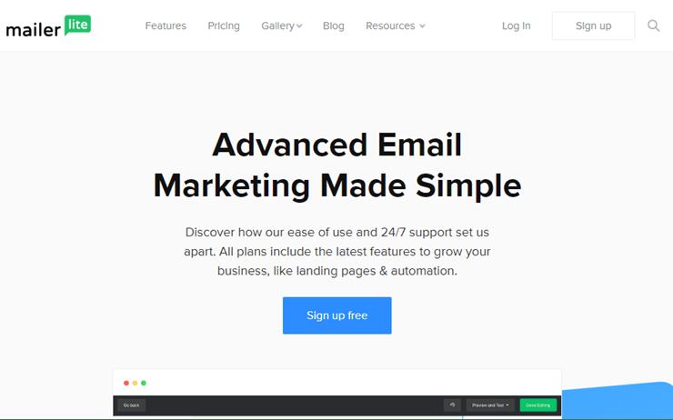 Mailerlite: Email Marketing Service