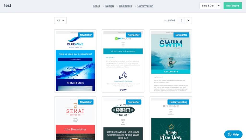 SendinBlue Templates: Email Marketing Service