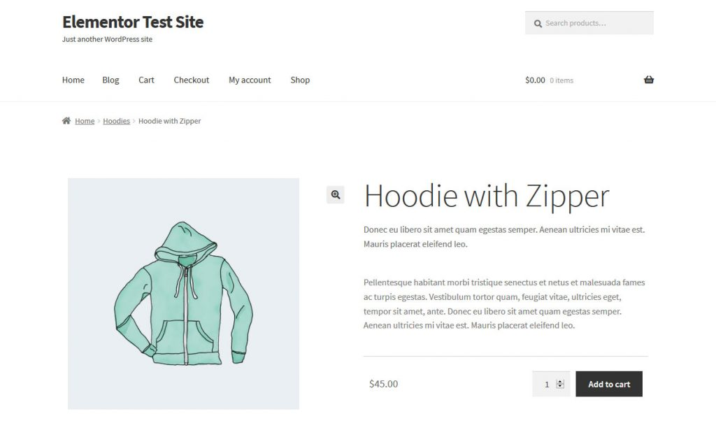 Simple Product in WooCommerce