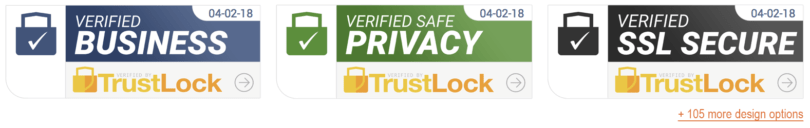 Trust Lock and Badges as Social Proof