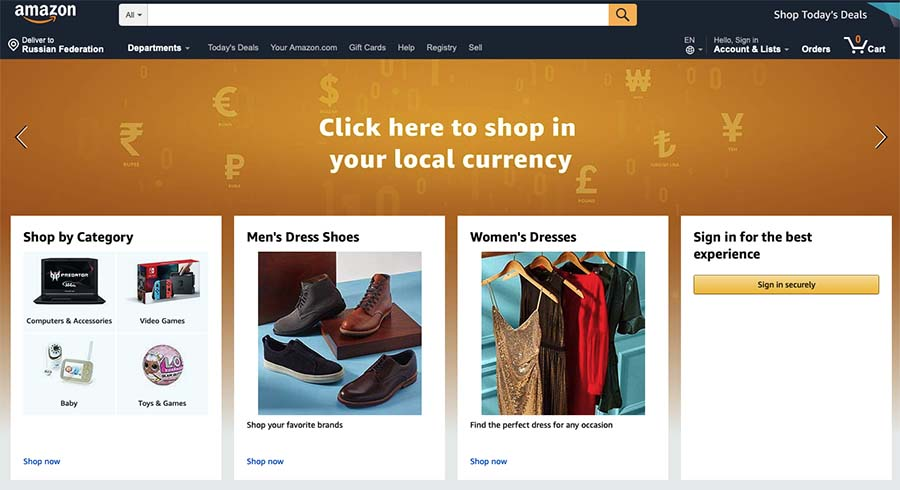 eBay Alternatives: Amazon