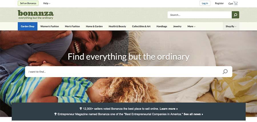 eBay Alternatives: Bonanza
