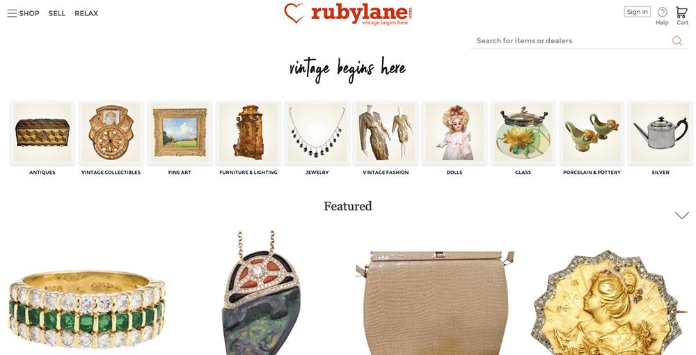 Ruby Lane eBay Alternative