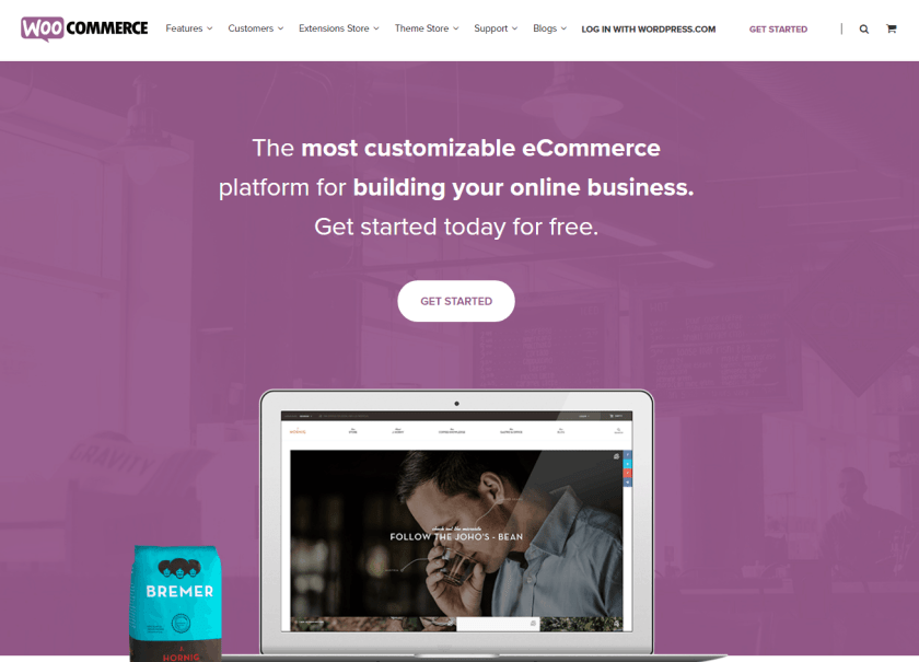 Best WordPress eCommerce Plugin-WooCommerce