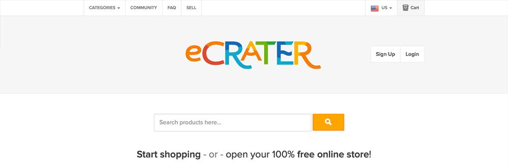 eCrater: eBay Alternatives
