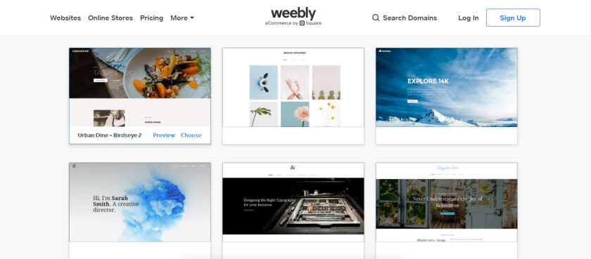 Weebly Themes