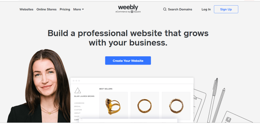 Weebly vs Squarespace: Weebly