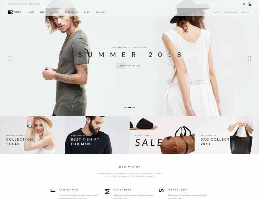 Artemis WooCommerce WordPress Theme
