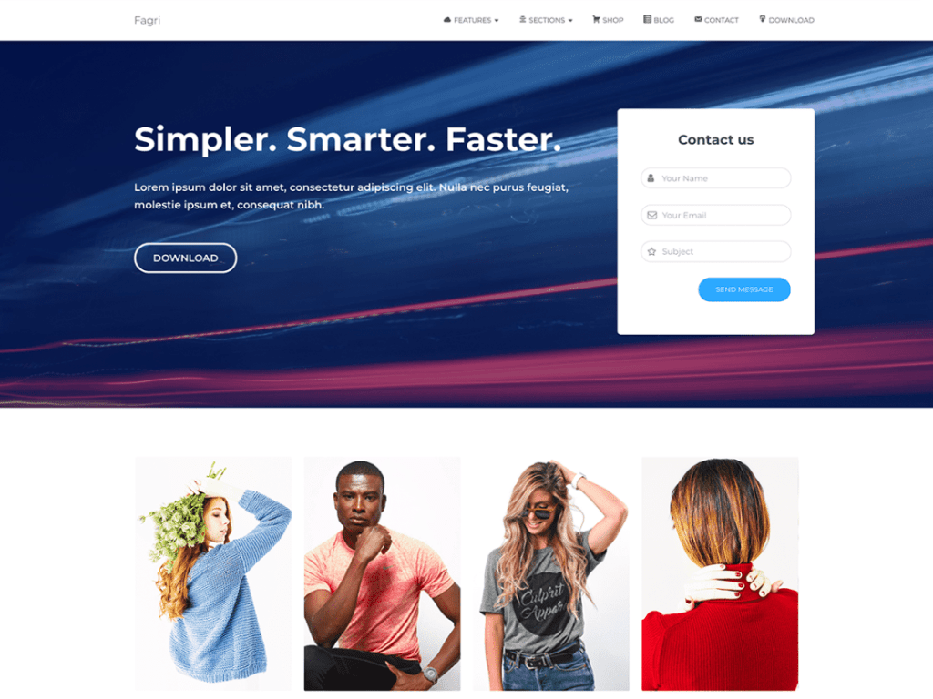 Fagri Ecommerce WordPress Theme