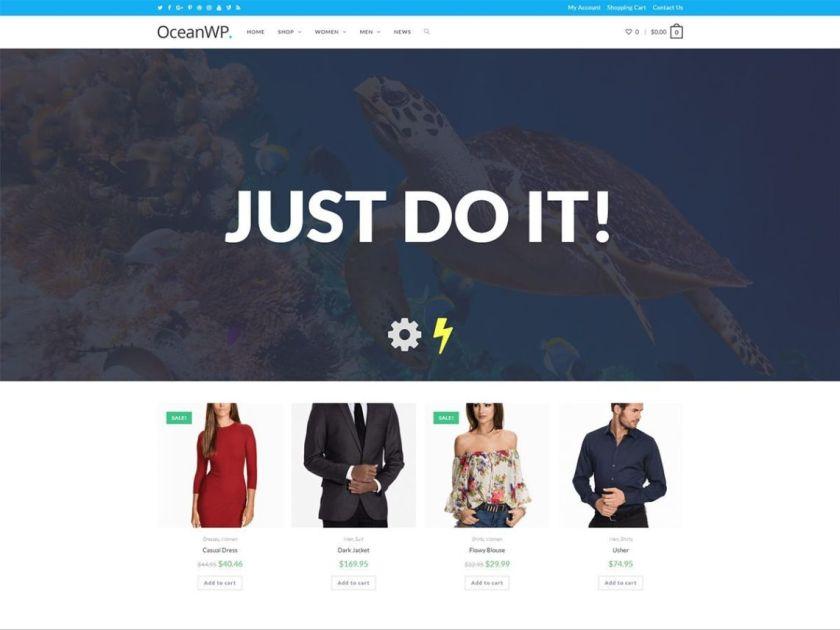 OceanWP Ecommerce WordPress Theme