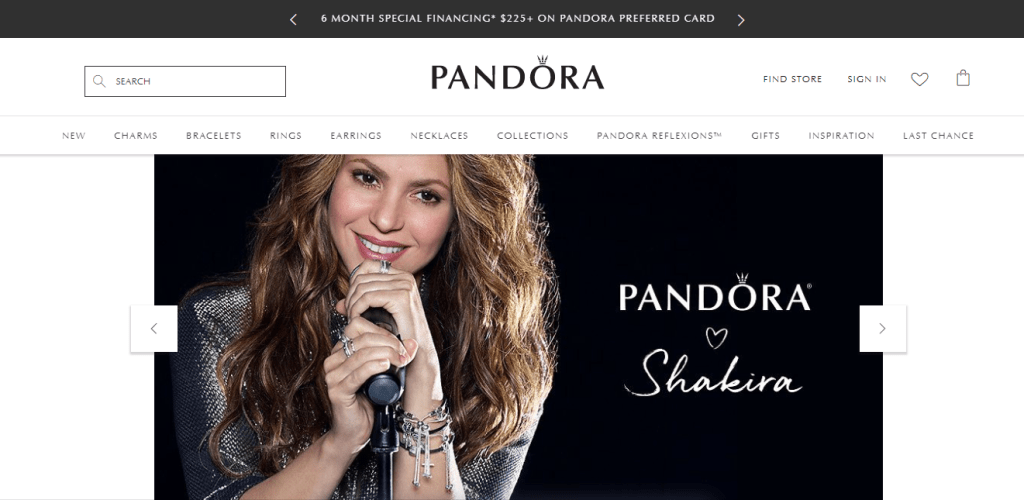 Pandora Welcome Email