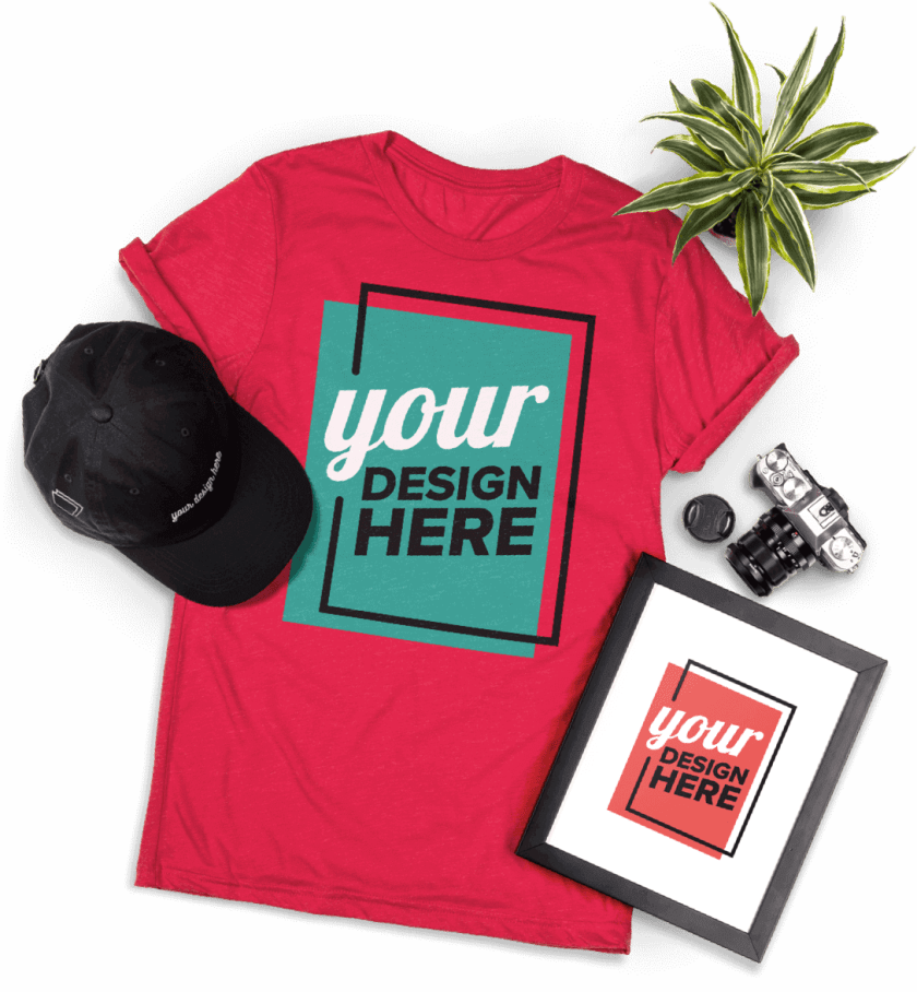 Print-on-Demand T shirts