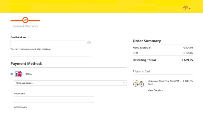 Example Checkout