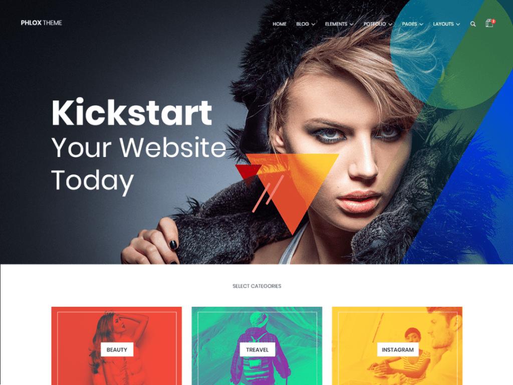 WordPress eCommerce Themes-Phlox