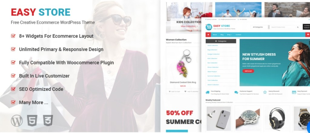 Easy Store eCommerce Theme