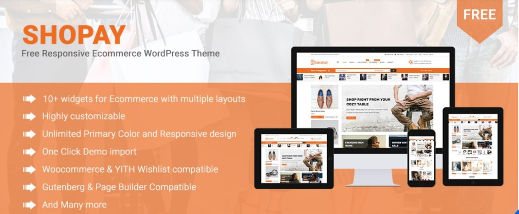 Shopay WooCommerce Theme