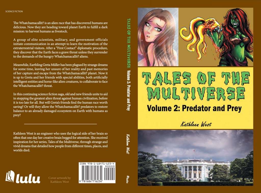 Tales of the Multiverse - Volume 2: Predator and Prey - Complete Book Cover