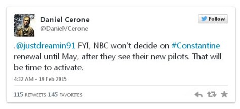 Daniel Cerone tweet