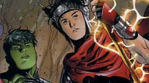 Gay in comics - Hulkling & Wiccan 01