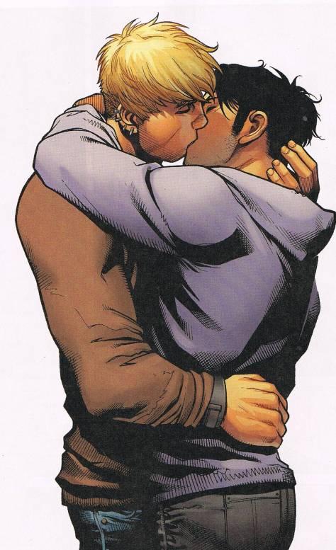 Gay in comics - Hulkling & Wiccan