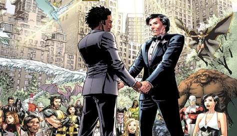 Gay in comics - NorthStar & Kyle Jinadu