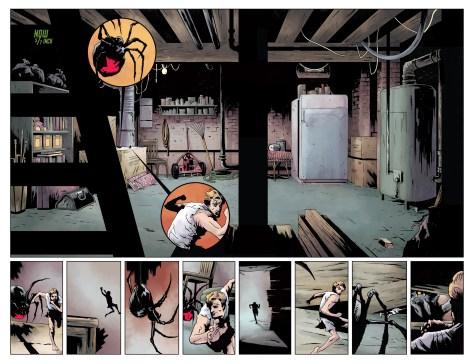 ההכנות בעיצומן לקראת המפגש בין אנט-מן לאלמנה השחורה ב
