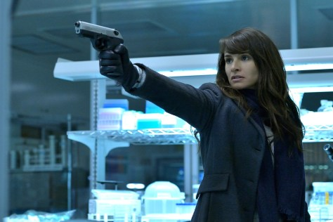 "THE STRAIN -- ""BK, NY"" -- Episode 201 (Airs July 12, 10:00 pm e/p) Pictured: Mia Maestro as Nora Martinez. CR: Michael Gibson/FX"
