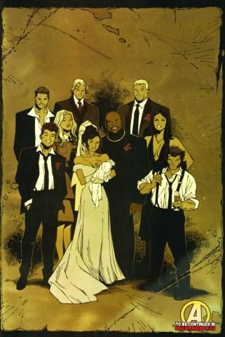 ימים אחרונים של אושר (סיפור החתונה פורסם רגע לפני Civil War)