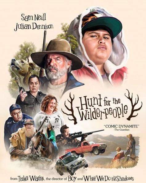 Hunt Wildepeople poster