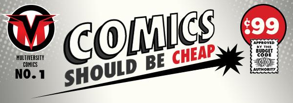 Comics Should Be Cheap Header