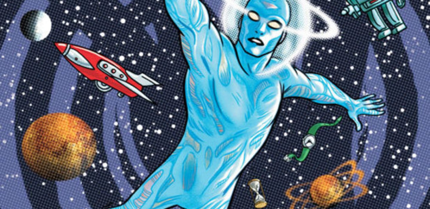 Mystery in Space Cover by Mike Allred