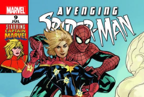 Avenging Spider-Man #9 Cover