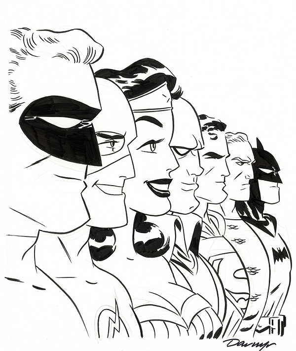 Artist August Darwyn Cooke Art Feature Multiversity