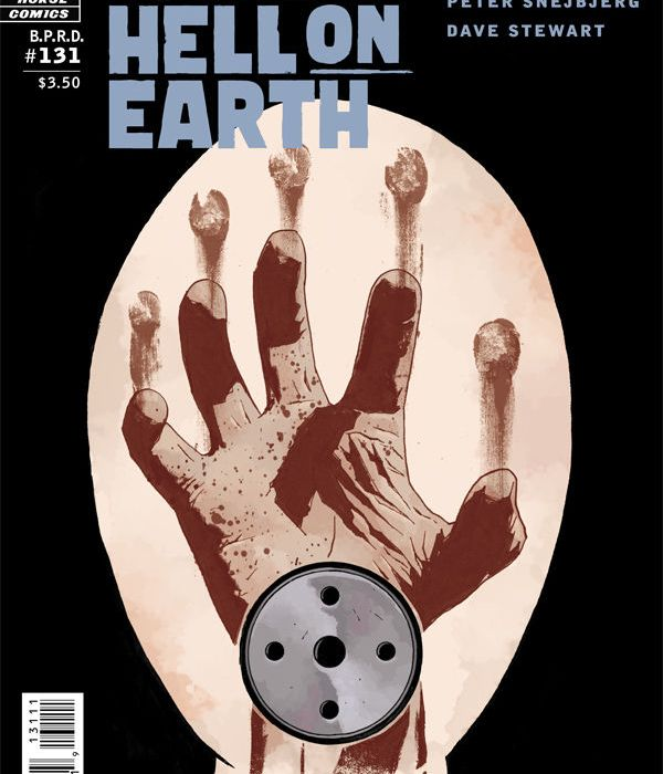 B.P.R.D: Hell on Earth #131 Cover