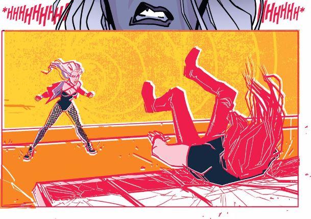 DC Sneak Peek Black Canary Cry