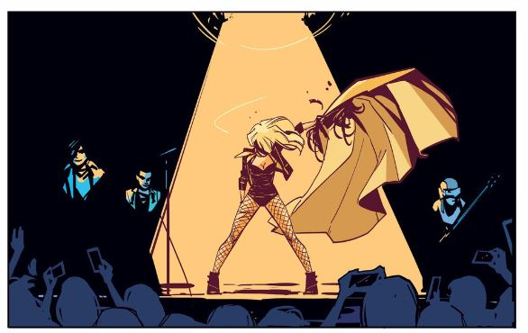 Black Canary 1 Cape