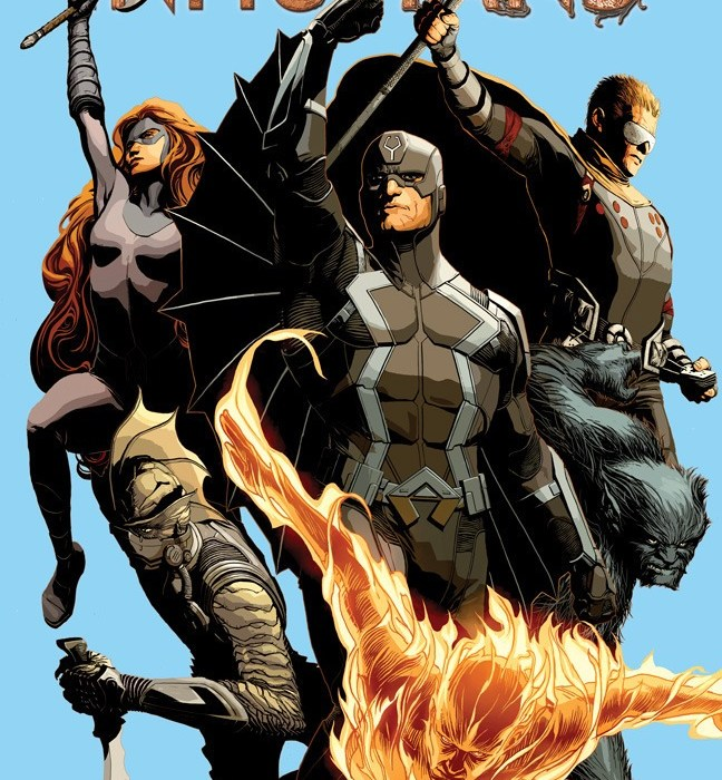 Uncannny Inhumans All New All Different