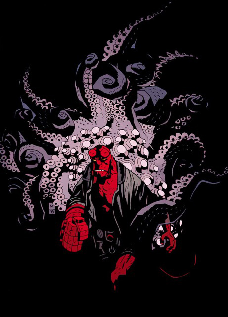 Hellboy: Seed of Destruction print