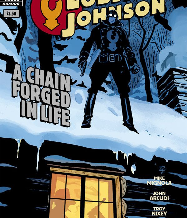 """""""Lobster Johnson: A Chain Forged in Life"""" Cover"""